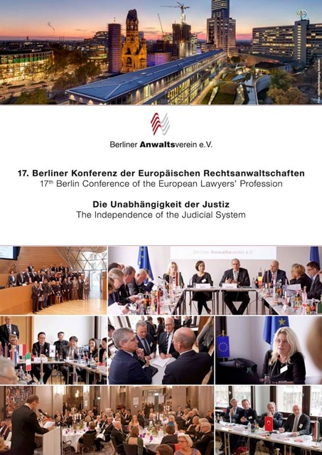 FBE at the 17th Berlin Conference of the European Lawyers' Profession – The Independence of the Judicial System