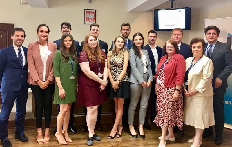 FBE International Young Lawyers' Human Rights Oratory Competition – Poznan, 29-30 June 2018