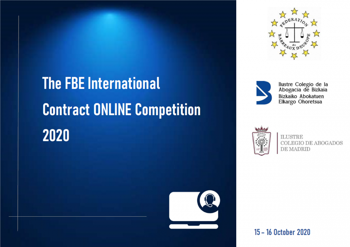 FBE International Contract Competition 2020 – ONLINE 15-16 October 2020