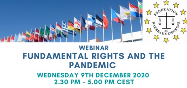 Webinar 09.12.20 – Fundamental rights and the pandemic