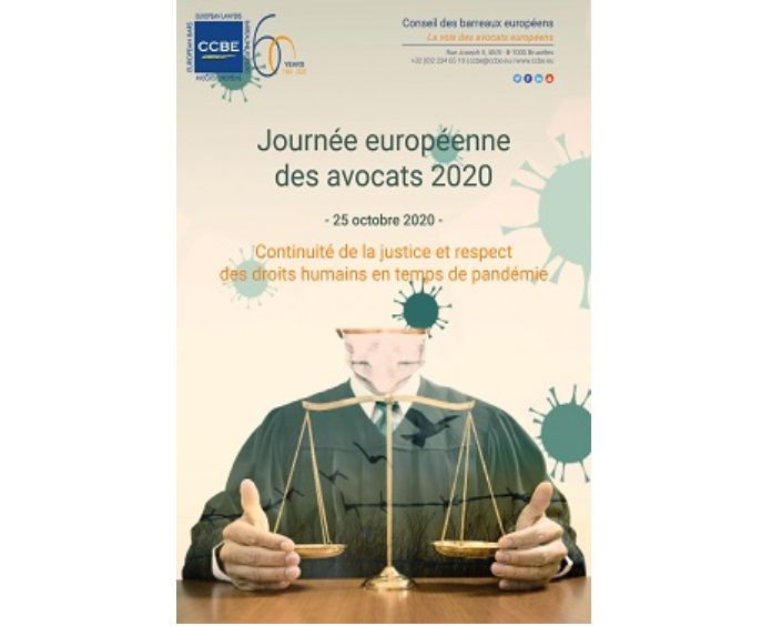 European Lawyers Day – 25 October 2020 – Continuity of justice and respect of human rights in times of pandemic