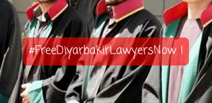 "FBE HUMAN RIGHTS COMMISSION – ""Free Diyarbakir Lawyers Now"""